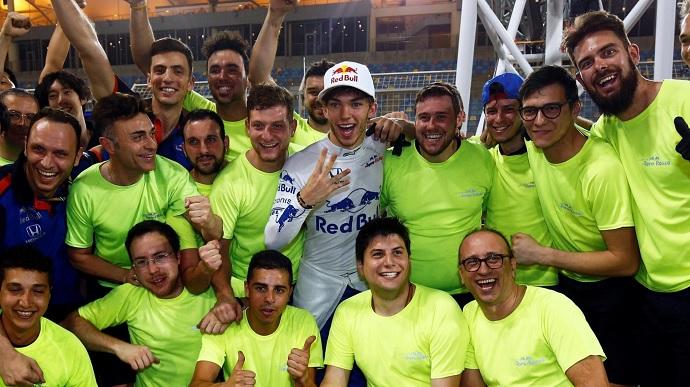 Éxtasis en Toro Rosso con el cuarto puesto de Gasly en Bahrein
