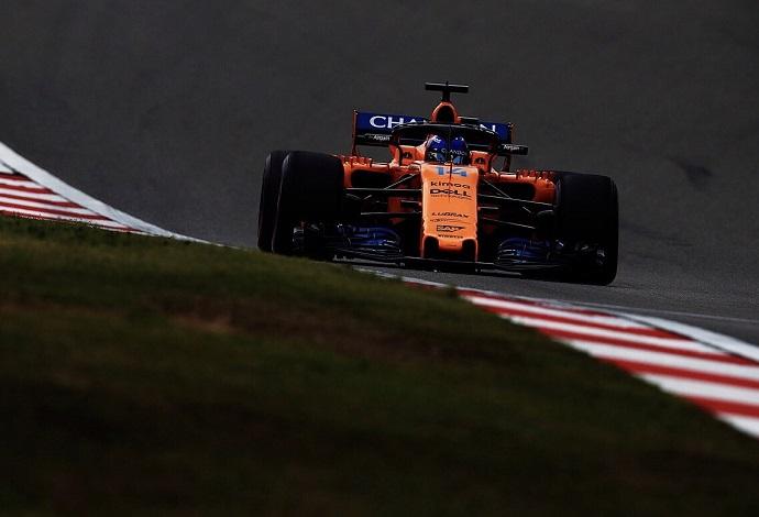 """Fernando Alonso, 13º: """"Los puntos siguen siendo muy posibles"""""""