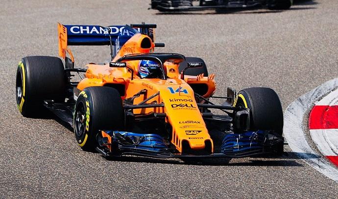 Fernando Alonso tira de McLaren un domingo más y es séptimo