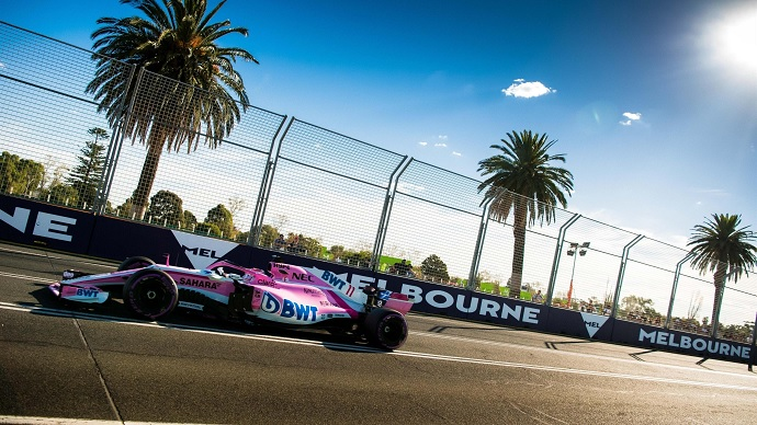 Force India firma con Acronis