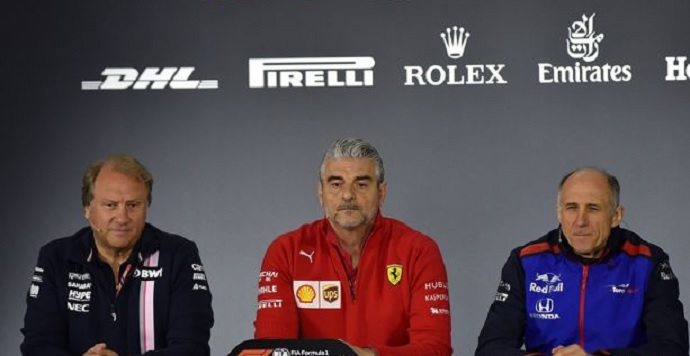 GP China 2018- Rueda de prensa jefes de equipo