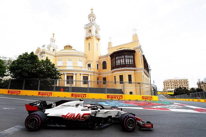 Haas da un paso atrás en Bakú