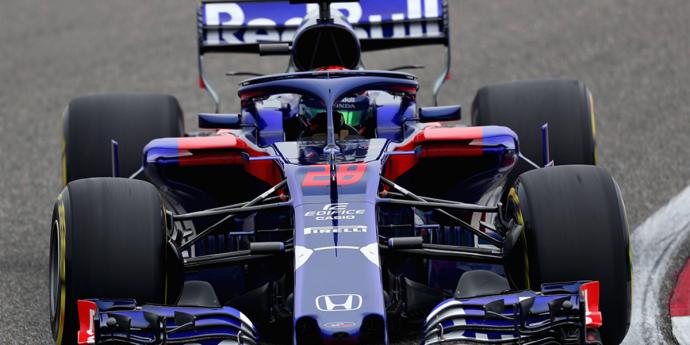 Un Toro Rosso bastante gris en la calificación del GP de China
