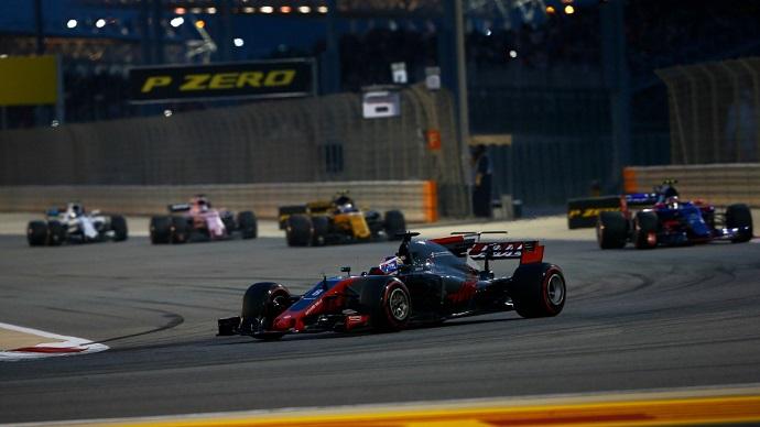 Kevin Magnussen abandera a Haas en la clasificación del GP de Bahrein