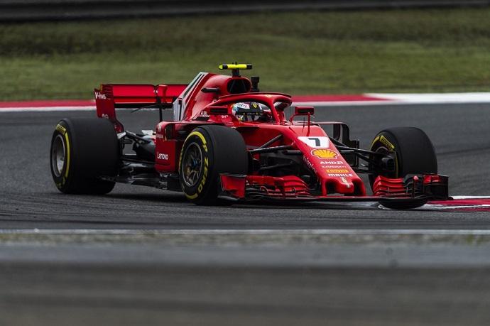 Räikkönen salva un podio tras el despropósito ferrarista en China
