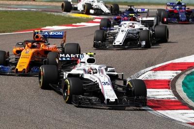 Williams pudo esquivar las últimas plazas en el GP de China