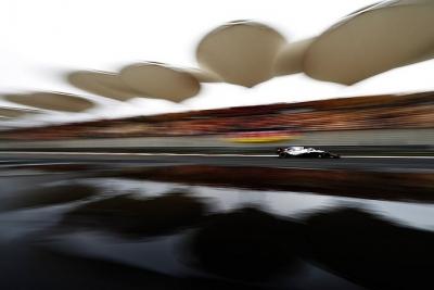 Williams vuelve a caer en Q1 en Shanghai