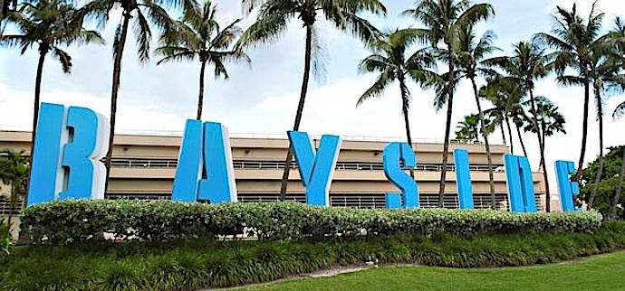 Bay Side Miami Market Place.