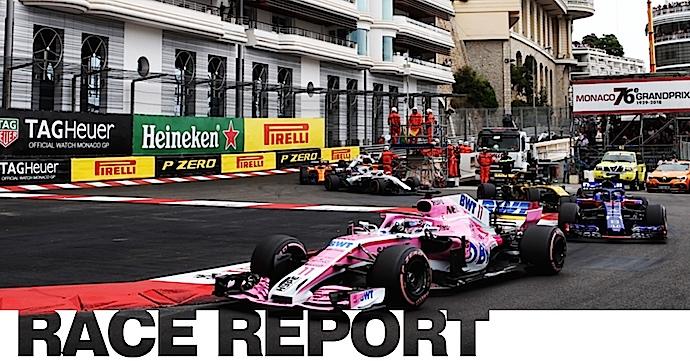 Domingo en Mónaco – Force India rosa y negro en el Principado