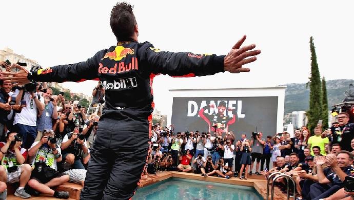Domingo en Mónaco-Red Bull: Ricciardo conquista el Principado