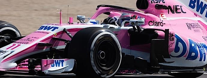 Force India confiado pero multado en primeros ensayos del GP de España