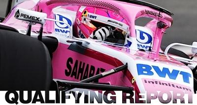 Force India tropieza y queda fuera de Q3 en calificación del GP Español