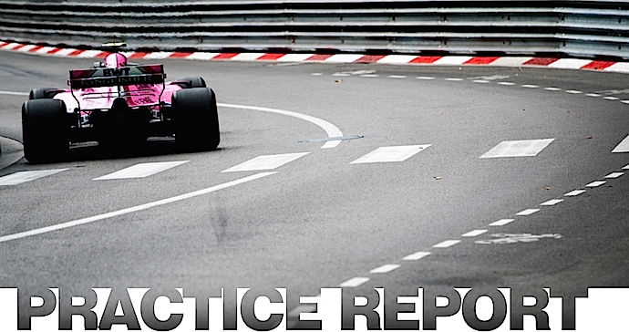 Jueves en Mónaco - Force India roza el top 10 calzando rosa