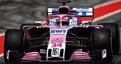 Mazepin cumple con Force India y termina P5 en segundo día de pruebas en Montmeló