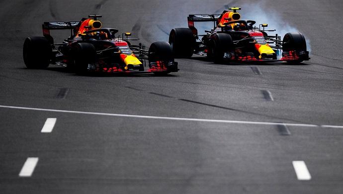 Red Bull y Honda se reunieron en Bakú