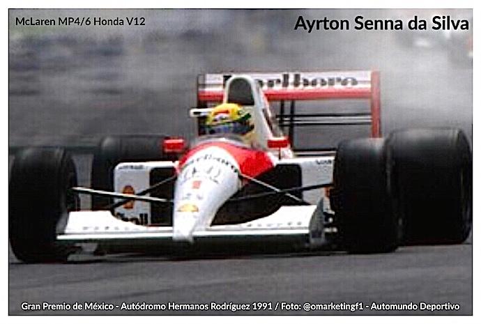 Ayrton Senna perdop la vida un día como hoy en el Gran Premio de San Marino 1994.