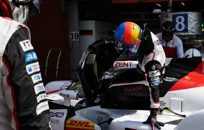 Alonso en Spa-FP1: Primera posición y buenas sensaciones