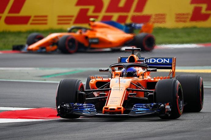 Fernando Alonso consigue la primera Q3 de 2018 en Montmeló