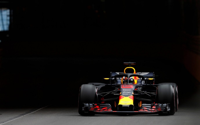 GP Mónaco 2018-FP1: Red Bull golpea primero ,Alonso con problemas