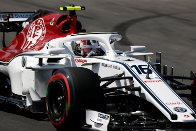 Prometedor viernes de Alfa Romeo Sauber en Montmeló