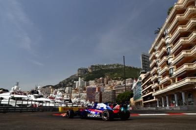 Sábado en Mónaco - Toro Rosso: Gasly alcanza el top 10