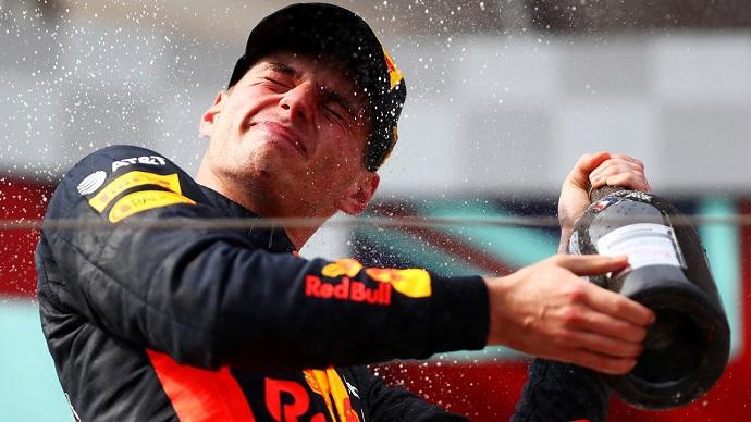 Domingo en Francia-Red Bull: Verstappen vuelve al podio