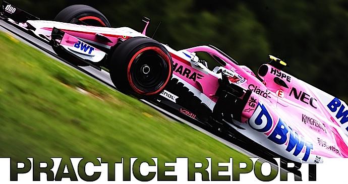 Viernes en Austria – Force India inicia sus 200 a mas de 300 en Spielberg