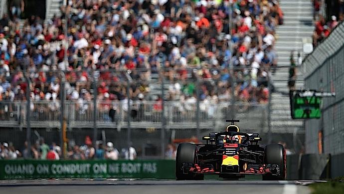 Viernes en Canadá - Red Bull y Verstappen marcan la pauta en Montreal
