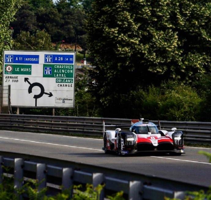 Alonso en el WEC- Le Mans: Mejor tiempo absoluto de Alonso en el día de Test