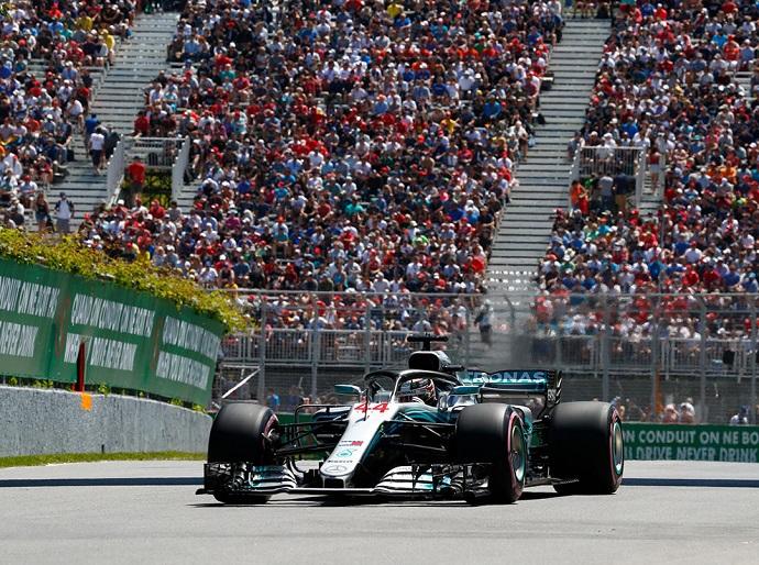 Domingo en Canadá-Mercedes: Bottas mejor que Hamilton en Montreal