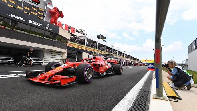 Domingo en Francia-Ferrari: Kimi podio y Vettel piloto del día según los fans