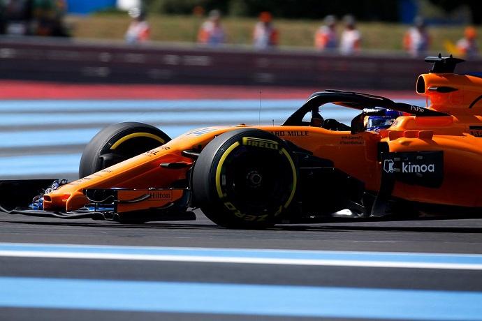 Domingo en Francia-McLaren: Dura carrera sin recompensa