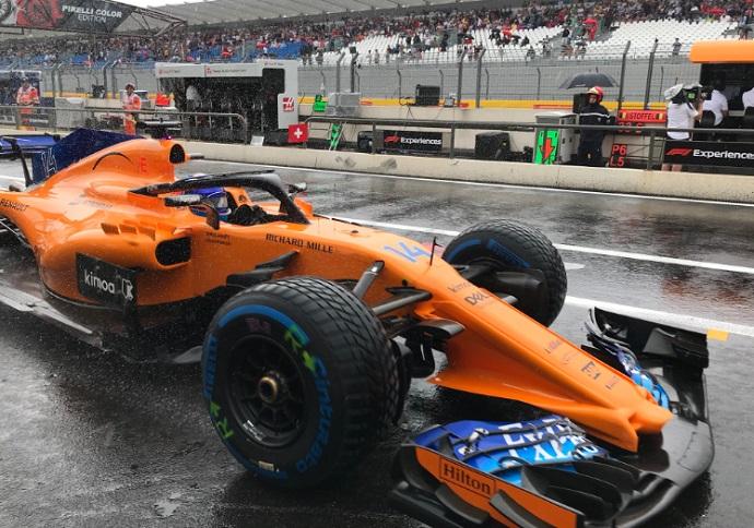 GP Francia 2018-FP3: Si hay lluvia no hay party
