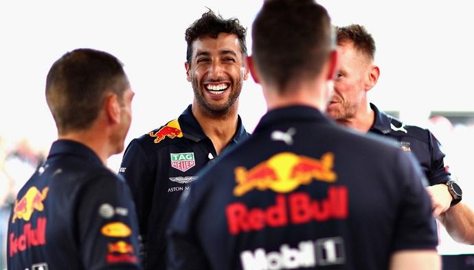 Mclaren habría ofrecido 17 millones anuales a Ricciardo, según prensa alemana