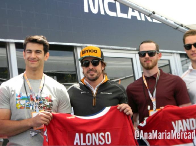 Mclaren podría caer al final de parrilla si pierde a Alonso, según Jolyon Palmer