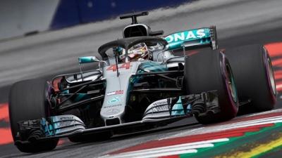 Sábado en Austria-Mercedes: Bottas asombra, Hamilton a 19 milésimas