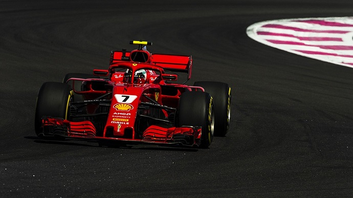 Sábado en Francia-Ferrari: Mercedes por delante de un buen Vettel y un mal Räikkönen