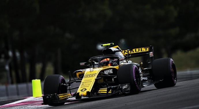 Sábado en Francia - Renault: Sainz tras el tren de cabeza