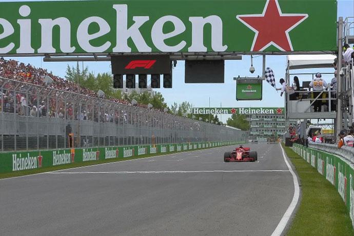 GP Canadá 2018 - Carrera: Vettel se pasea en el Gilles Villeneuve y se aúpa al liderato del mundial por un punto