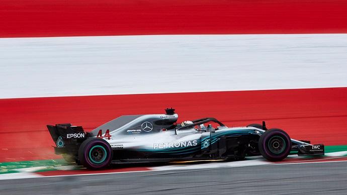 Viernes en Austria-Mercedes: Las flechas dominan pero sin celebraciones