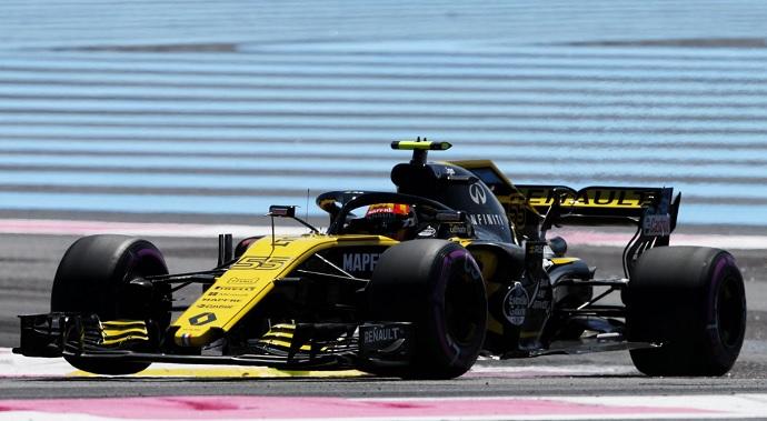 Viernes en Francia Renault: progresa adecuadamente