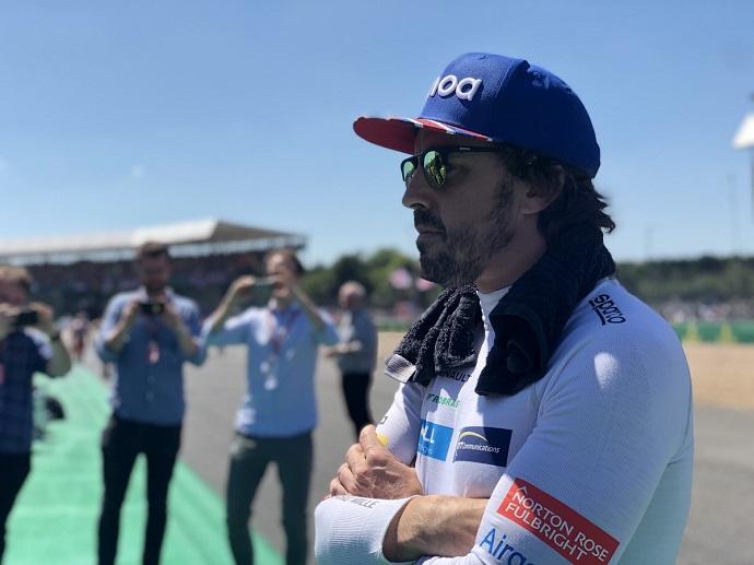 Alonso espera continuidad en lo que resta de temporada