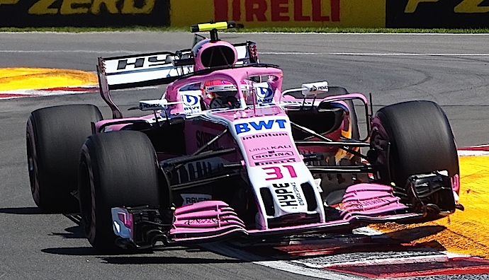 Domingo en Austria - Force India consigue 14 unidades rosas en su GP 200