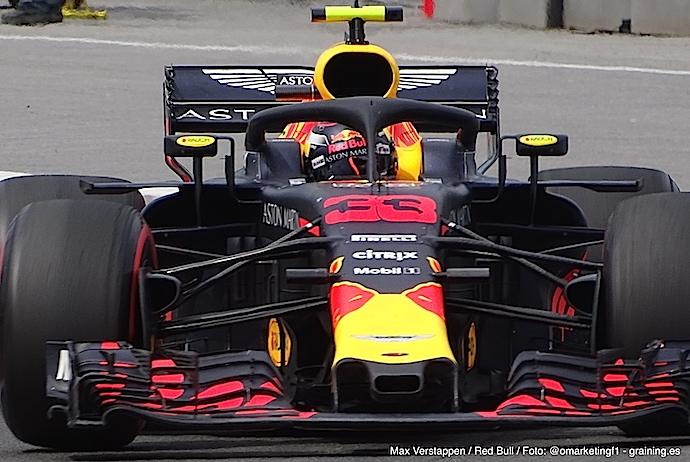 Red Bull domina primeros ensayos del GP de Alemania 2018