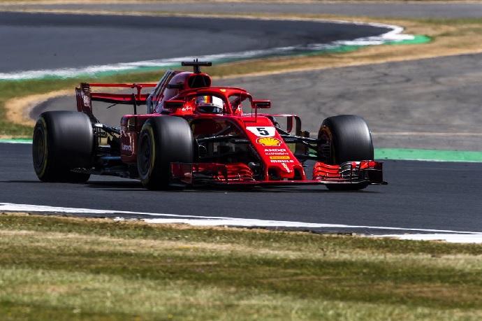 Sábado en Gran Bretaña-Ferrari: Los italianos se quedan a las puertas de la pole