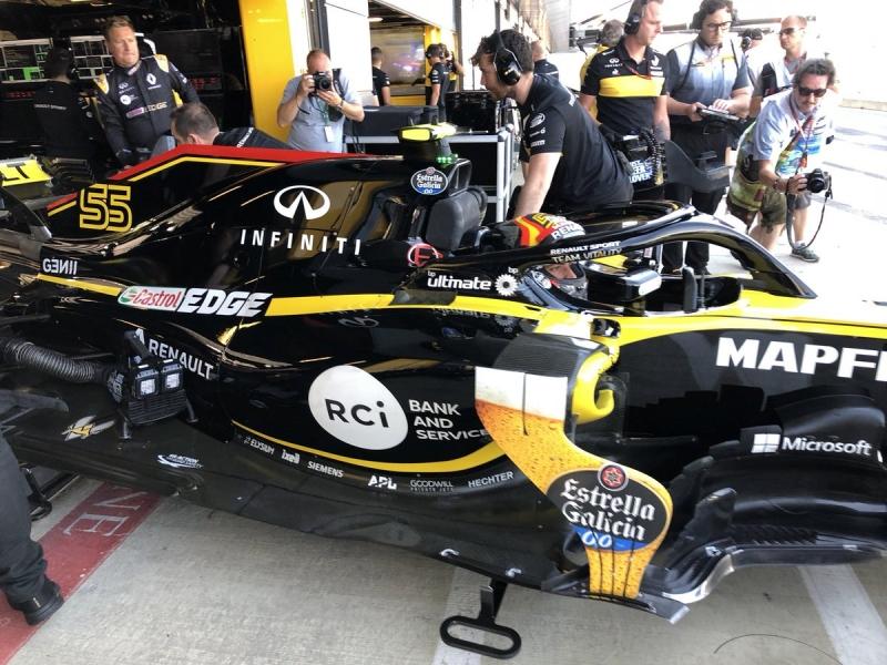 Sábado en Gran Bretaña-Renault: Primera vez fuera de Q3
