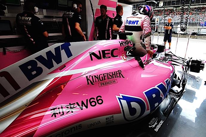 Sábado en Hungría – Force India bajo una nube no precisamente rosa en Hungaroring