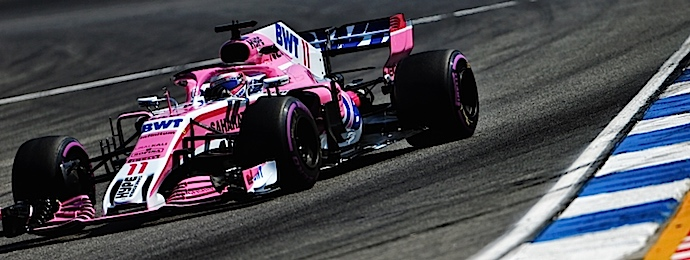 Viernes en Alemania – Force India a media tabla aprendiendo a leer el Hockenheimring