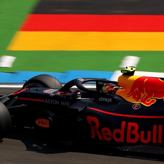 Viernes en Alemania-Red Bull: Los austriacos dominan ambas sesiones de libres