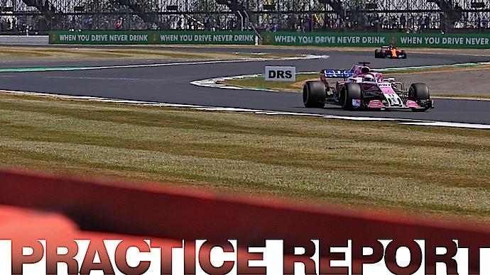 Viernes en Gran Bretaña – Force India alentador inicio en Silverstone con ambas panteras rosas en Top 10
